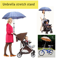High Quality Umbrella Stretch Stand Holder Adjustable Baby Stroller Pram Umbrella Stand Holder Bracket Cycling Bicycle Bike