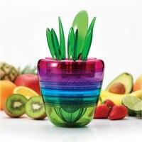 Salade Making Outil Fruits Légumes Processeur Broyeur Alimentaire Processeur Cuisson Dispositif Juicer Grinder Fruits Fourches Cuisine Gadgets