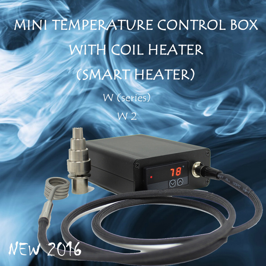NEW 2016 W2 Orange 120V 150W SMALL DIGITAL TEMPERATURE CONTROL BOX NAIL COIL HEATER TITANIUM