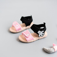 2017 Lovely Palm Baby Girls Summer Shoes Casual Sport Sandals For Girls Beach Shoes Baby First