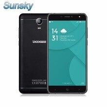 Ursprüngliche doogee x7 pro 6,0 zoll android 6.0 smartphone 2 gb 16 GB MTK6737 Quad Core OTG 4G FDD-LTE 1,3 GHz 13.0MP Mobile telefon