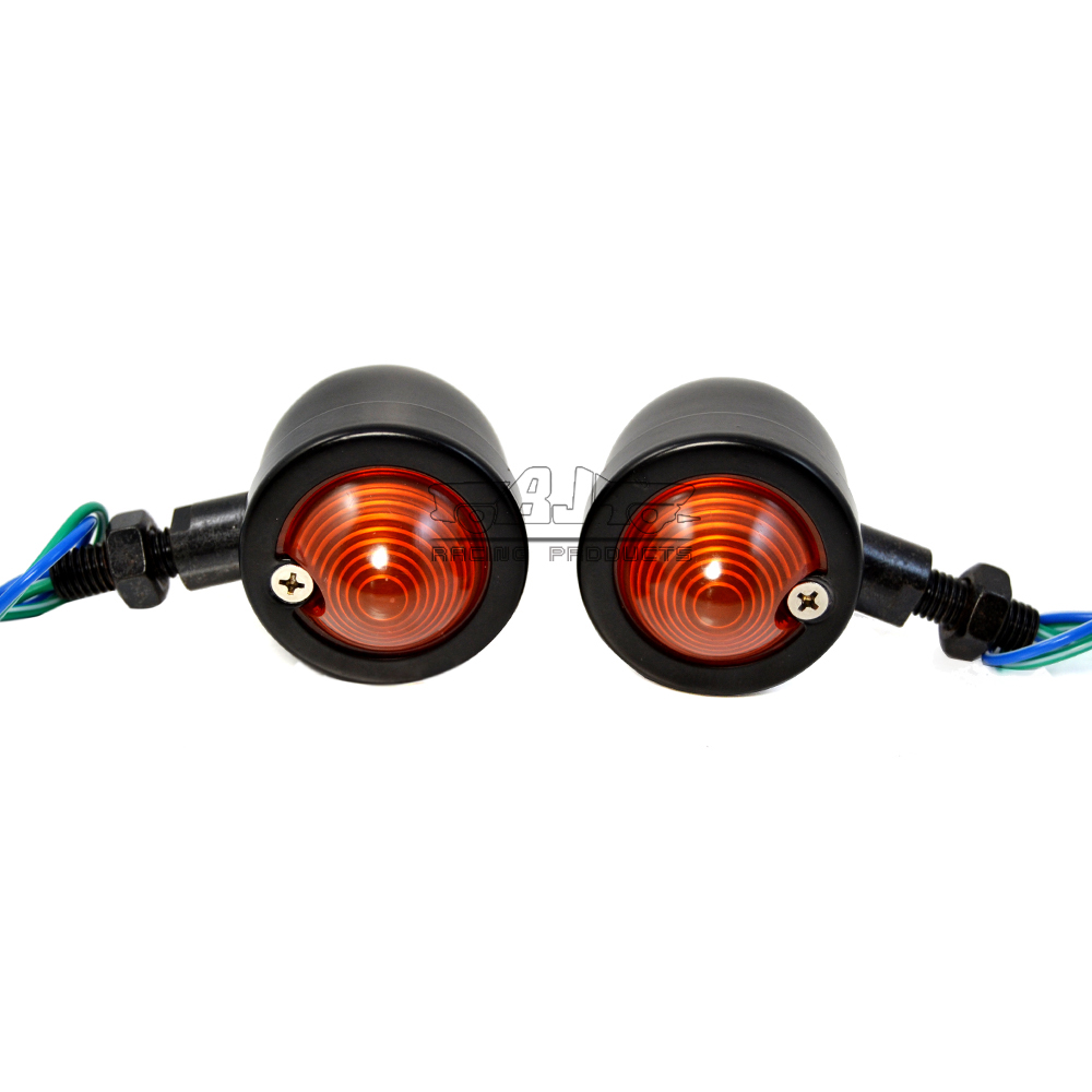 BJGLOBAL Motorcycle Turn Signal Indicator LED Bulb Light Lamps Flashers LIghts for Harley CBR CB KLX RMZ EXC