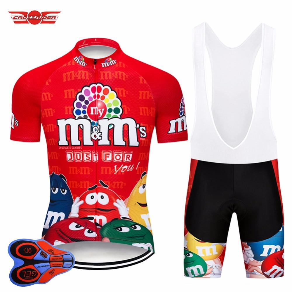 2018 Funny Cycling Jerseys Short Sleeve Mens MTB Mountain Bike Clothing Road Bicycle Wear Breathable Bib Gel Set Maillot Culotte цена