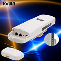 1 W Wireless Router WIFI Repetidor WIFI de Largo Alcance CPE 3 KM 300 Mbps Router AP Al Aire Libre CPE Puente AP Client Router Apoyo OpenWRT