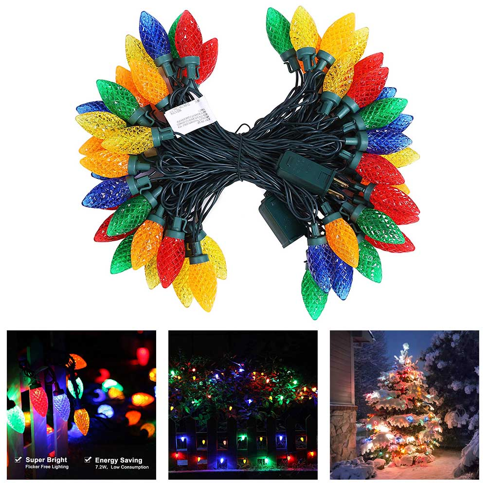Lights & Lighting Stage Lighting Effect Able Led Fairy Lights Projector Landscape Snowflake Pattern Lamp Outdoor Christmas Decor Clh@8