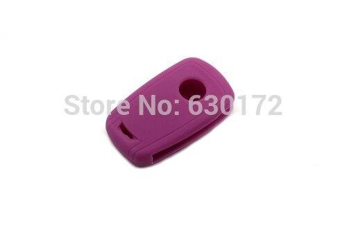 Фиолетовый, силиконовый БЕСКЛЮЧЕВОЙ дистанционный ключ Fob флип ключ защитный кожух для Chevrolet Cruze