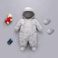 Baby Winter Sets Warmly Down Rompers 12M 18M 24M Kids Boys Girls Winter Outfit