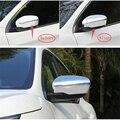 Lapetus Боковая дверь зеркало заднего вида крышка Накладка подходит для Nissan Rogue/X-trail 2014-2020 углеродное волокно ABS/авто аксессуары