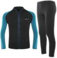 2mm split two piece wetsuit surf suit to keep warm