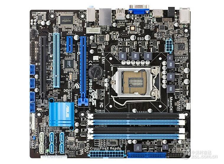 original motherboard P8H67-M DDR3 LGA 1155 for I3 I5 I7 CPU 32GB H67 Desktop motherboard,very new msi original zh77a g43 motherboard ddr3 lga 1155 for i3 i5 i7 cpu 32gb usb3 0 sata3 h77 motherboard