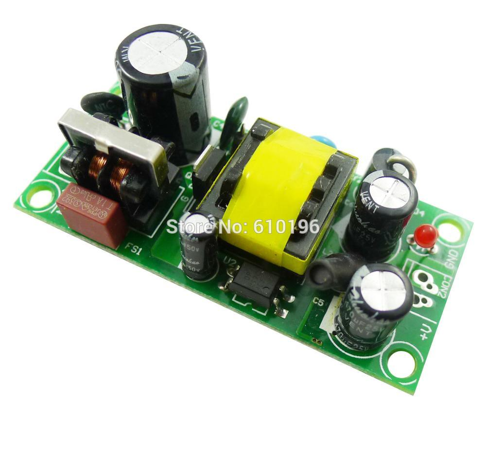 10PCS/LOT Precision 1A 12W AC 85-265V to 12V AC DC Voltage Converter Buck Switching Volt Regulated Power Supply Module
