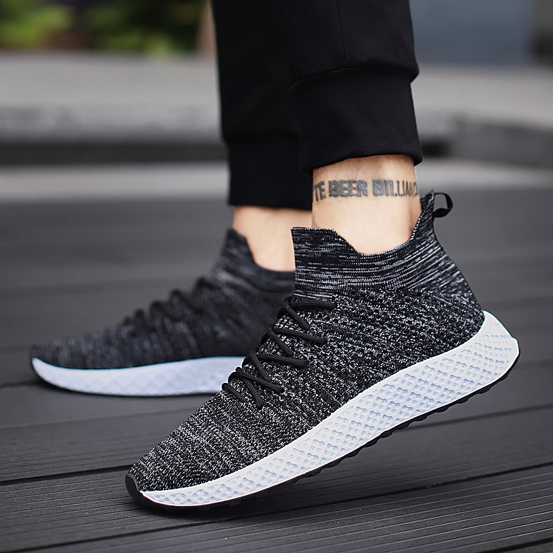 Newest UltraLight Men Casual Shoes Fly Weaving Sneakers Shoes Outdoor Basketball Sneakers For Men Shoes Footwear Plus SizeNewest UltraLight Men Casual Shoes Fly Weaving Sneakers Shoes Outdoor Basketball Sneakers For Men Shoes Footwear Plus Size