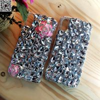 Note8 Luxury Girl Woman Lady Jewelled Peacock Diamond Case For Samsung Galaxy Note 8 5 4