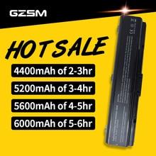 5200MAH 6CELLS Battery for TOSHIBA L300 satellite A350 A355 U405 A205 A215 A200 PA3534U PA3535U PA3682U PABAS098 bateria akku motherboard for toshiba satellite a200 a205 k000051290 943gml iskae 12 la 3661p 100