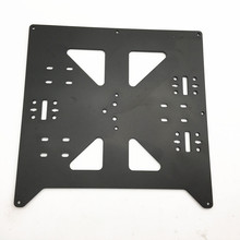 цены Funssor Reprap Prusa i3/Anycubic MEGA i3 black anodized Aluminium alloy heated bed support Y carriage tray for 3D printer