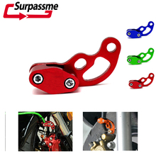 цена на Motorcycle Universal CNC Aluminum Oil Tube Pipeline Clamps Brake Cable Line Clip 6MM 8MM 10MM for Yamaha MT07 MT09 R3 SUZUKI