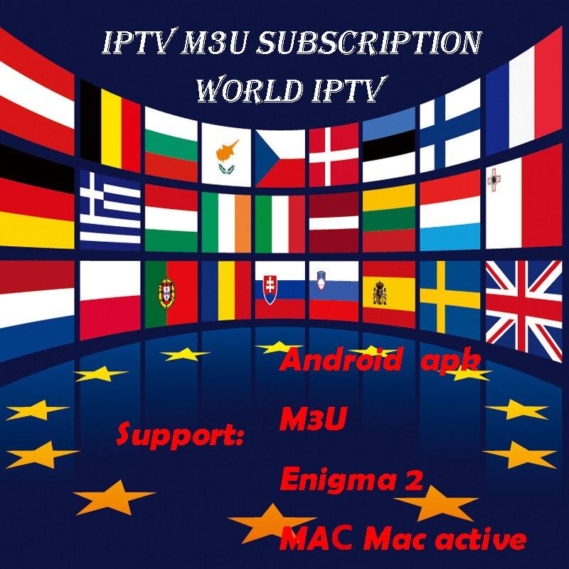 1 Jahr Iptv Abonnement Französisch Iptv Europa Arabisch Belgien Iptv Abonnement Code Livetv M3u 250 Android Box Smart Tv Weich Und Rutschhemmend