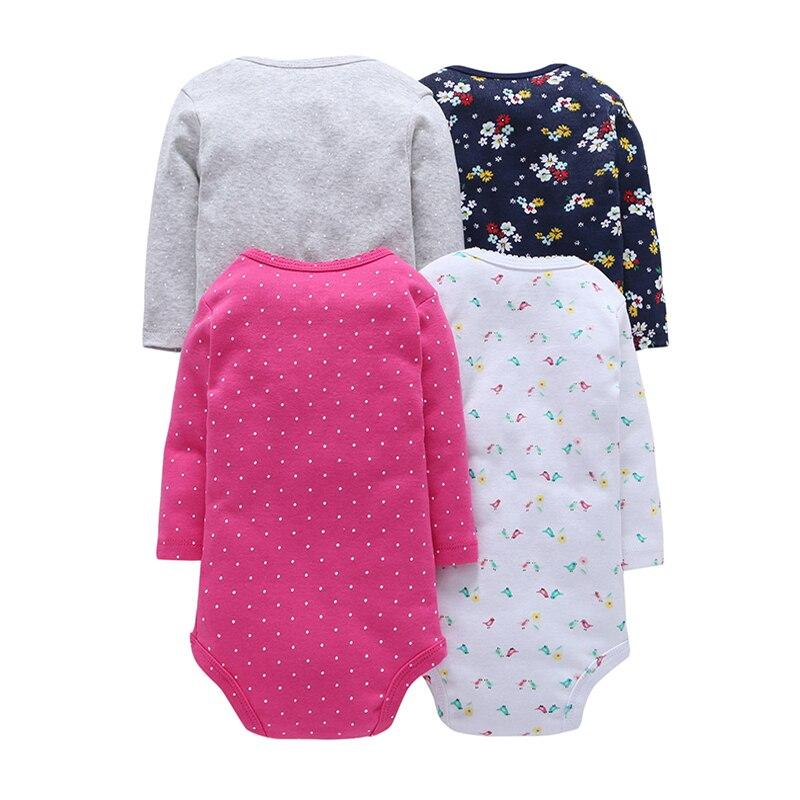 Детское боди с длинными рукавами для мальчиков, трико для девочек, одежда для новорожденных, коллекция года, осенний комплект унисекс для новорожденных, зимний хлопковый Модный комплект с круглым вырезом
