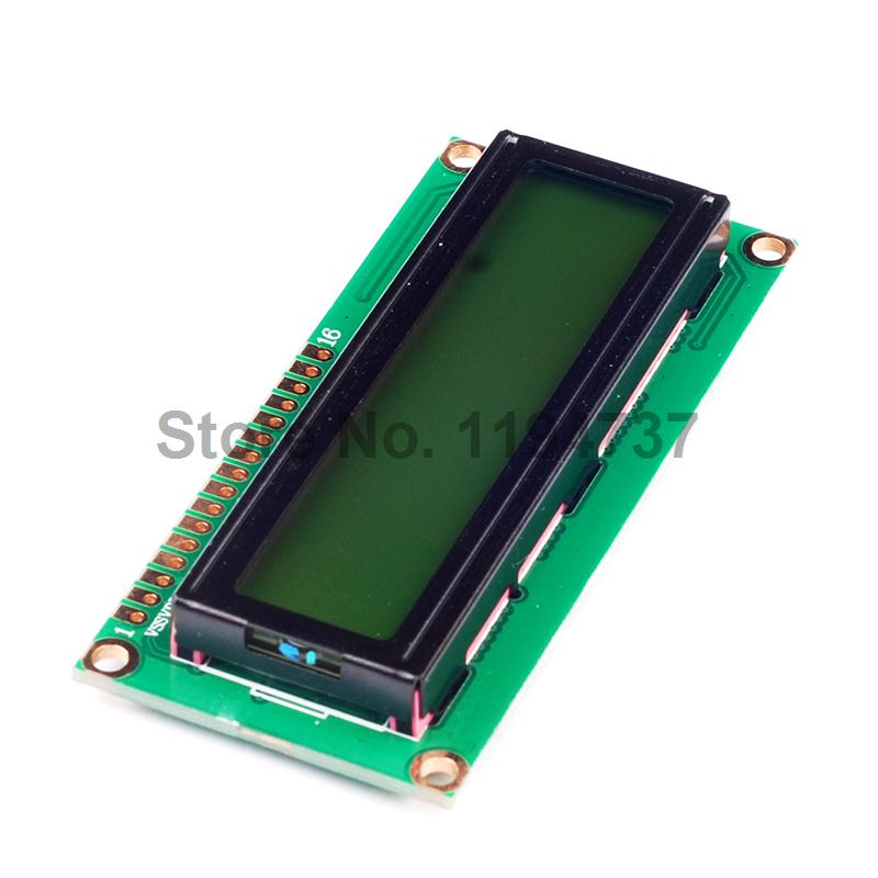 5PCS 1602 16*2 Character 5V LCD Module Display LCM with Yellow Green
