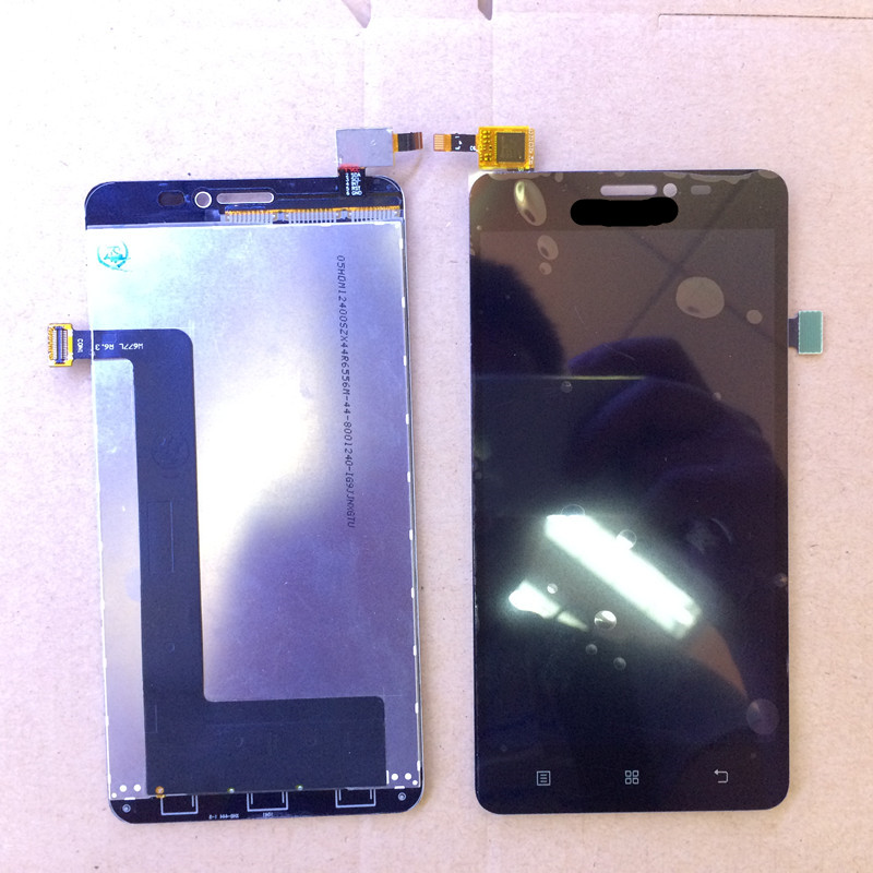 S850 LCD Display+Touch Screen Panel Digital replacement Accessory For Lenovo S850 Smartphone Black Free shipping+Track Number