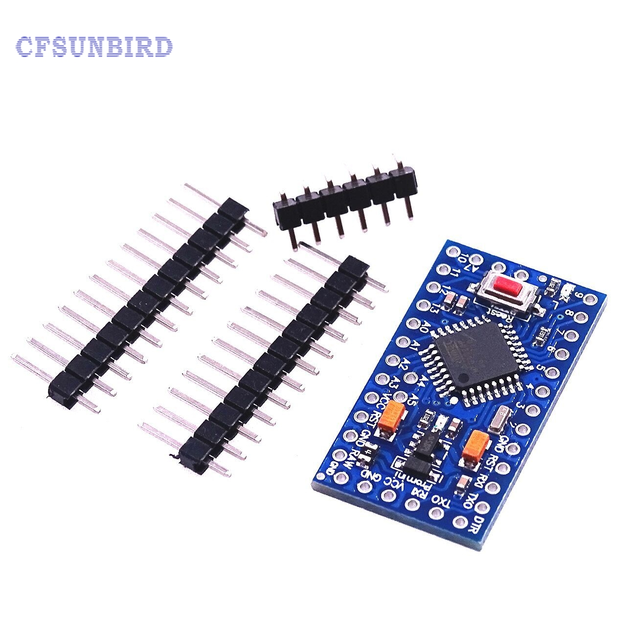 все цены на  CFsunbird 10pcs/lot ATMEGA328P Pro Mini 328 Mini ATMEGA328 5V 16MHz for Arduino 5V 16M  онлайн