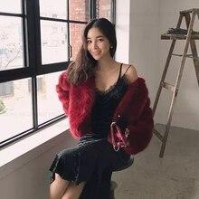 New Style High-end Fashion Women Faux Fur Coat 17S19