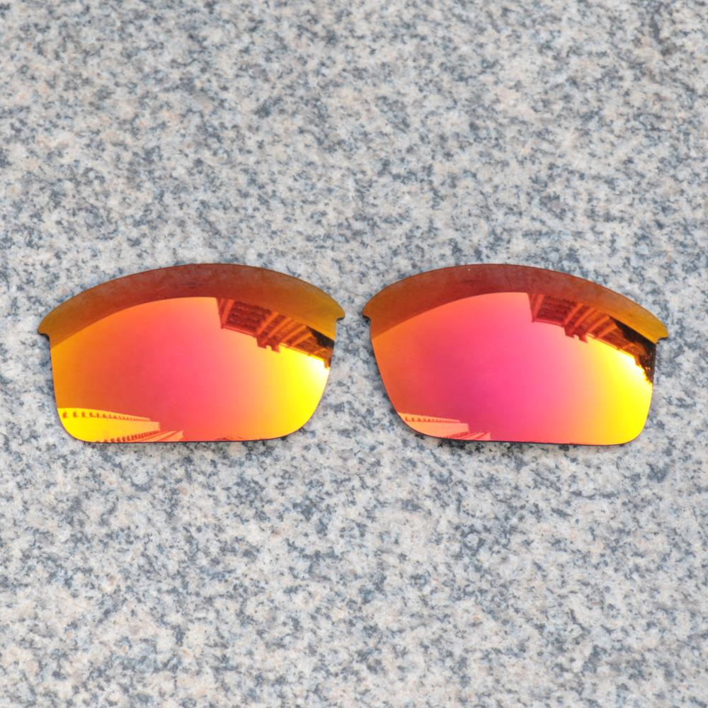 Wholesales E.O.S Polarized Enhanced Replacement Lenses for Oakley Bottlecap Sunglasses - Fire Red Polarized Mirror thumbnail
