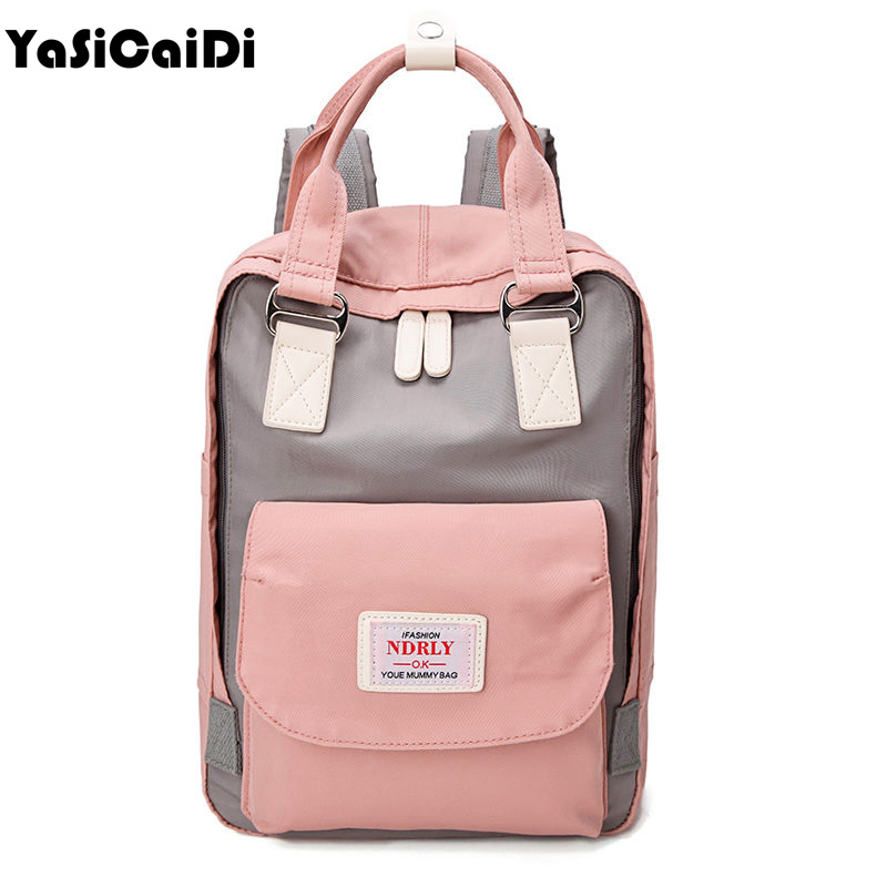 Fashion Canvas Women Backpack Large School Bags For Teenage Girls Mommy Computer Travel Luggage Laptop Fashion Backpack Bagpack hanerou oxford women backpacks for teenage girls mommy travel luggage fashion backpack bag pack mochila escolar gril school bags