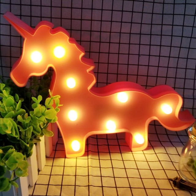 Unicorn Shaped Night Light