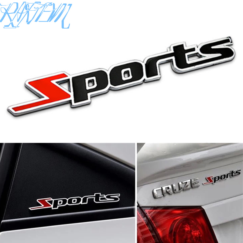 1pcs Car Styling Sport Stickers For <font><b>Mercedes</b></font> <font><b>Benz</b></font> A180 A200 W203 <font><b>W210</b></font> W211 AMG W204 C E S CLS CLK CLA SLK Classe <font><b>Accessories</b></font> image