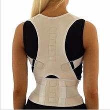 Adjustable Magnetic Therapy Posture Corrector Brace Shoulder Back Support Belt for Male Female Braces & Supports 10 Magnets