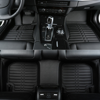 Top quality! Custom special floor mats for Volkswagen Tiguan Allspace 5 seats 2017 2018 waterproof durable carpets,Free shipping