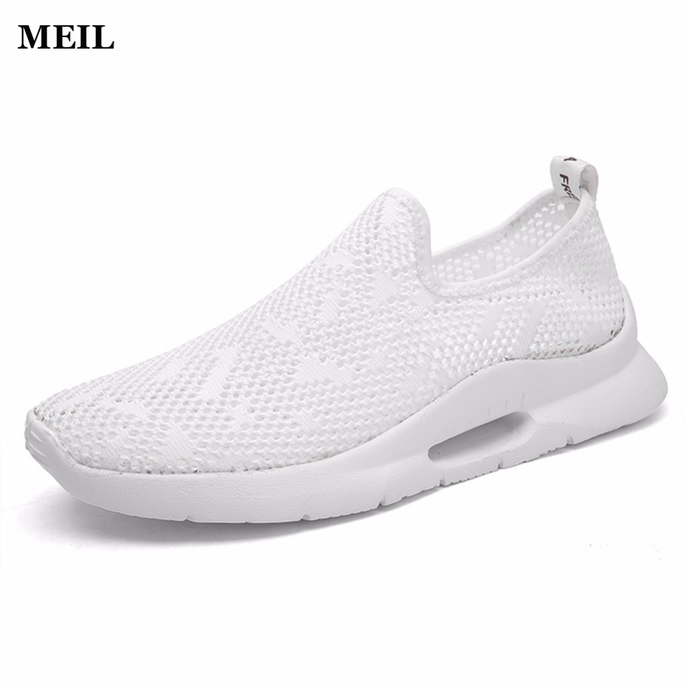 Summer Men 2018 New Casual Shoes Slip On Fashion Breathable shoes
