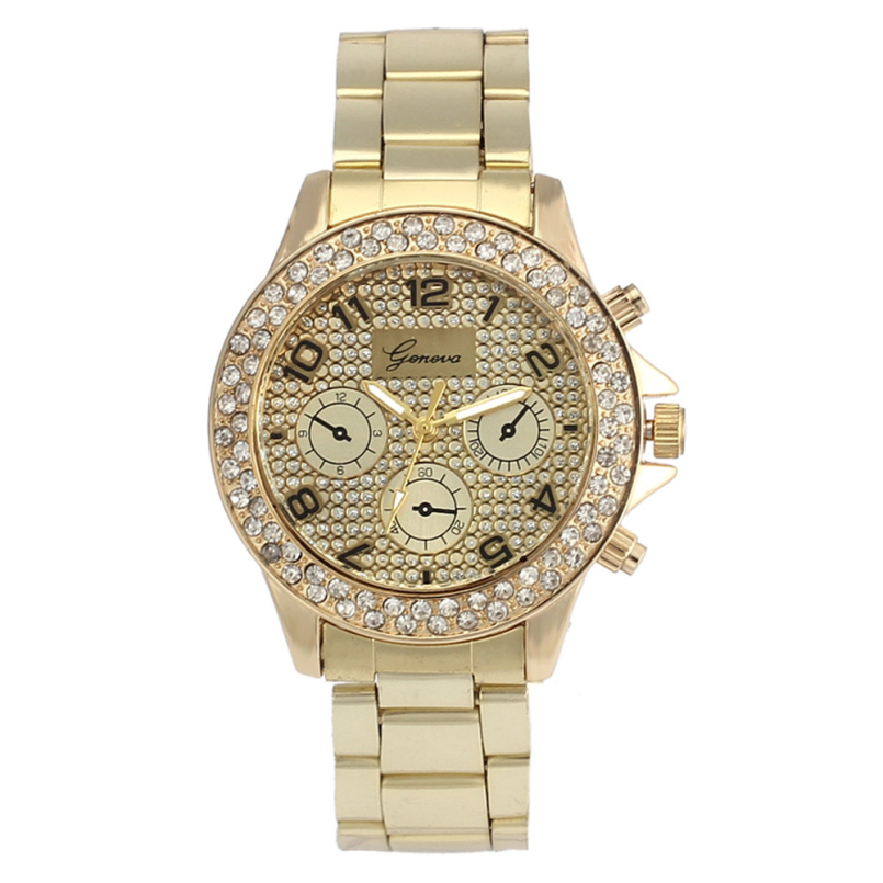 Excellent Quality Gold Silver Stainless Steel Watch Analog Quartz Watches Women Business Watch Relogios Femininos Feb 24