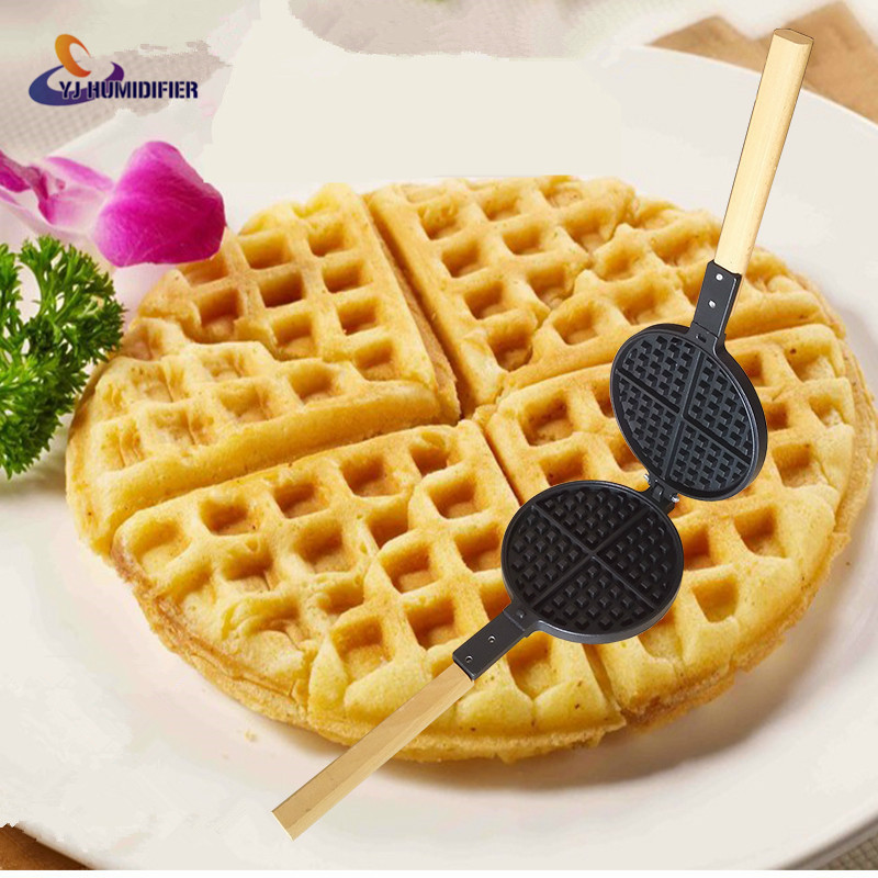 YJ Waffle Pan Maker Electric Cooker Waffle Furnace Templates Household Waffle Waffles Cake Die Embossed Egg Sauce Cakes electric 4 heads and 6 heads induction cooker embedded electromagnetic oven household commercial electromagnetic furnace cooking