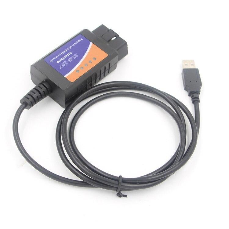 ELM327 USB V1.5 modifié pour Ford Forscan ELMconfig CH340 + 25K80 puce HS-CAN/MS-CAN Livraison Gratuite