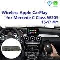 Joyeauto послепродажное беспроводное OEM Apple CarPlay Android авто зеркало модифицированное Mercedes C Class W205 GLC X253 15-19 NTG5 автоигра