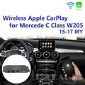 Joyeauto послепродажное беспроводное <font><b>OEM</b></font> Apple CarPlay Android авто зеркало модифицированное Mercedes C Class W205 GLC X253 15-19 NTG5 автоигра