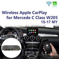 Joyeauto послепродажный Беспроводной OEM Apple CarPlay модифицированный Mercedes C Class W205 GLC X253 15 19 NTG5 автомобильный игровой с обратной камерой