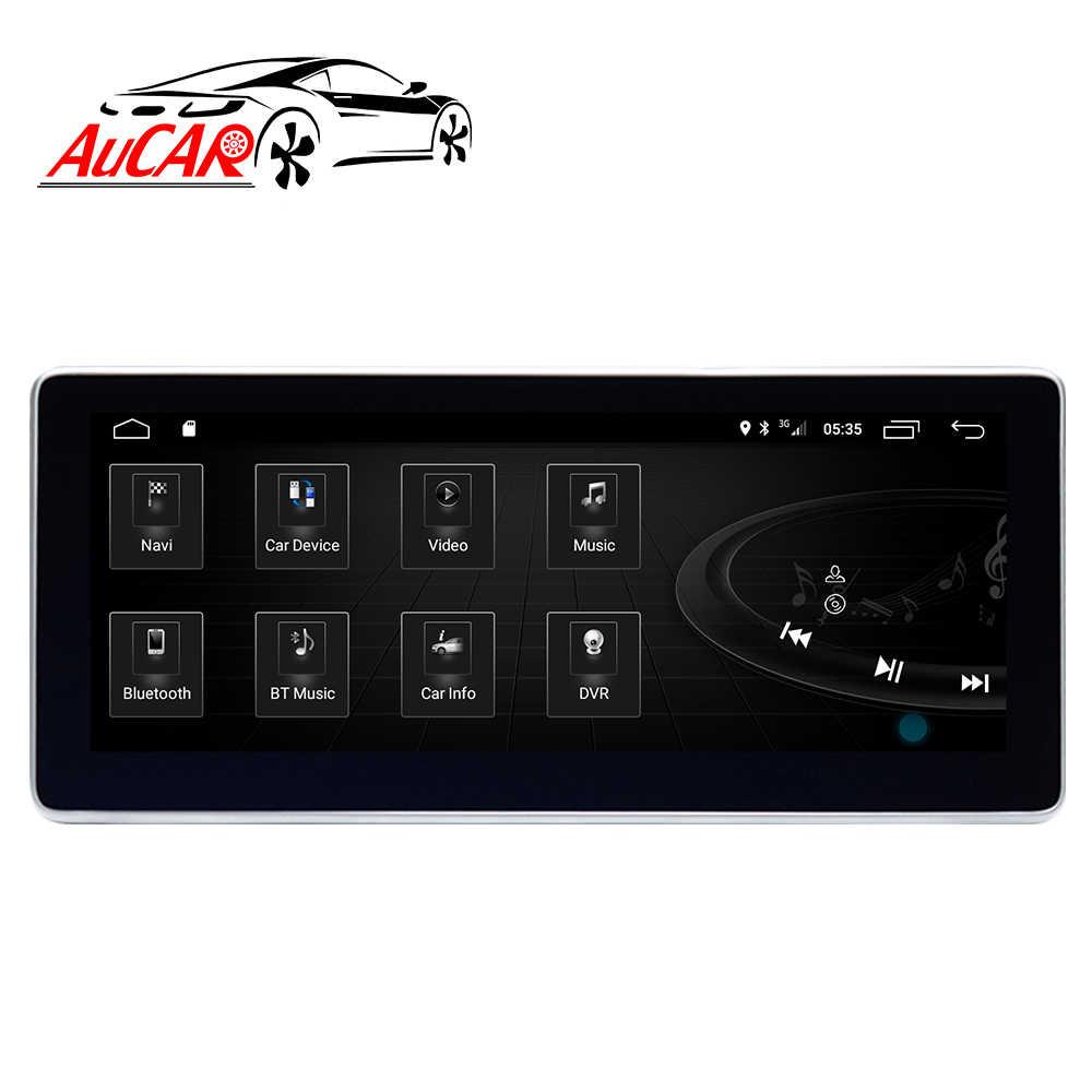 AuCAR Android タッチアウディ A6 A6L 2005 の GPS DVD プレーヤーマルチメディアナビゲーションステレオ BT ビデオオーディオ 4 グラム IPS
