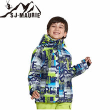 SJ-Maurie Outdoor Sportwears Kids Clothes Winter Ski Suit Windproof Snowboarding Jackets Winter Snow Girls Clothes Boys Clothes(China)