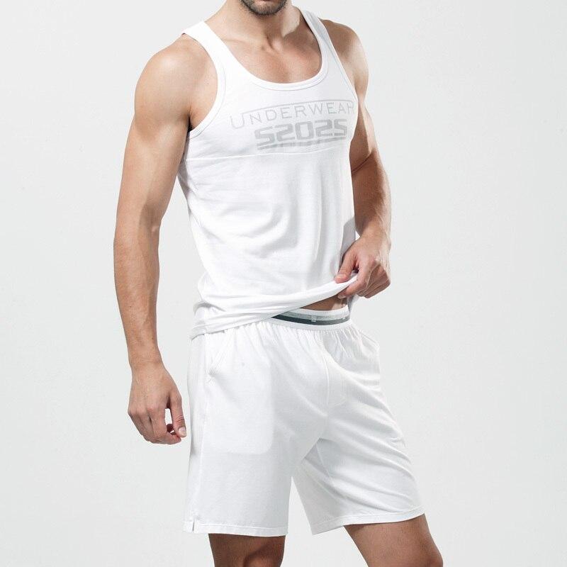Sleepwear Lounge-Set Sleep-Bottoms Cotton Men's Modal Comfortable High-Quality