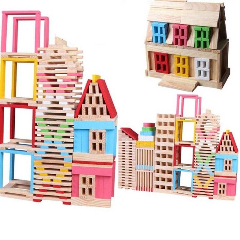 SUKIToy Wooden building blocks 150pcs