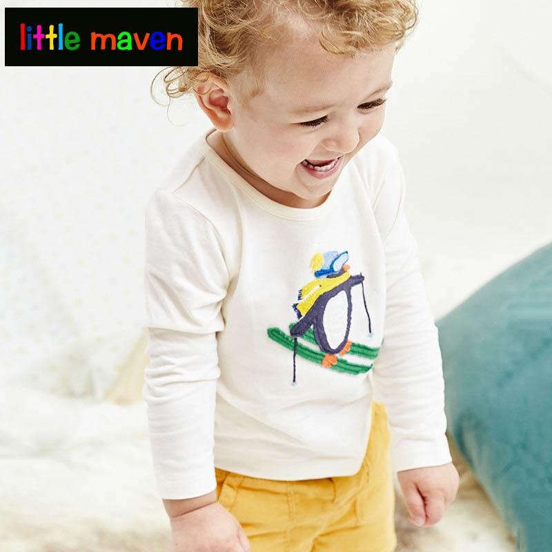 Děti Bottoming Shirt Podzim 2017 Děti Oblečení Móda Bavlna - Dětské oblečení