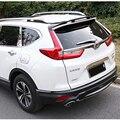 Стайлинг автомобиля  АБС-пластик  неокрашенный  наружный  задний  ствол  крылышко  спойлер  украшение для Honda CRV  CR-V 2017  2018