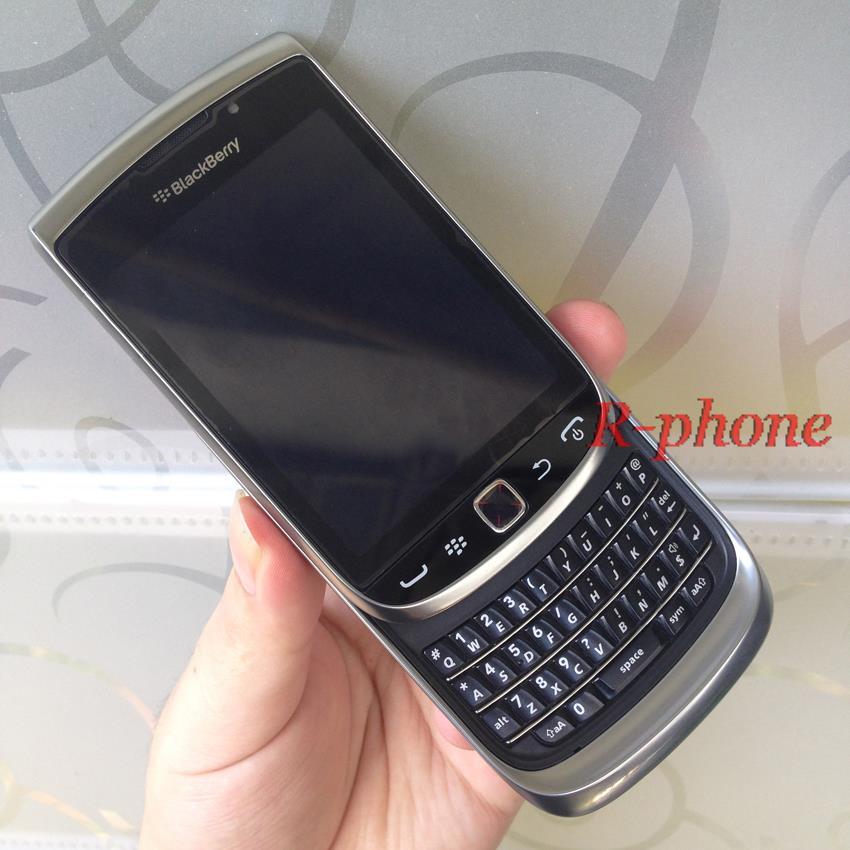 Original BlackBerry Torch 9810 Mobile Phone BlackBerry 9810 Smartphone Unlocked 3G Wifi Bluetooth GPS 8GB Storage