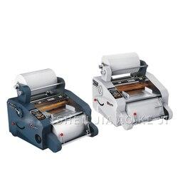 Sprzedaż Cb f350a automatyczny laminator 0.5 3 M/Min prędkość filmu wyświetlacz Lcd termo do laminowania nawlekaniu szerokość podawania 350mm|Laminator|   -