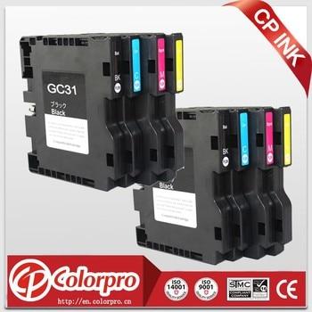 8PK For Ricoh GC31 Compatible Sublimation Ink Cartridge For Ricoh e2600 e3300 e3300N e3350N e5050N e5500 e5550N e7700