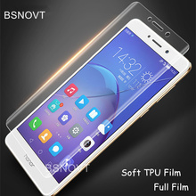 2 pcs Full Cover Screen Protector Huawei Honor 6x Soft TPU Film For 6X Glass Anti Burst Phone
