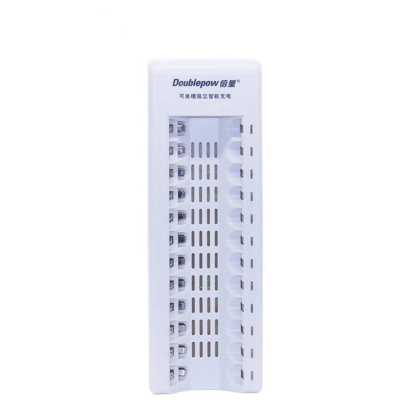 12 слотов dp-k12 Многофункциональный Smart Автоматический быстрое зарядное устройство для всех 1.2 В AA/AAA аккумуляторные батареи зарядки смешанные...
